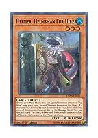 遊戯王 英語版 DASA-EN016 Helmer, Helmsman Fur Hire 空牙団の舵手 ヘルマー (スーパーレア) 1st Edition