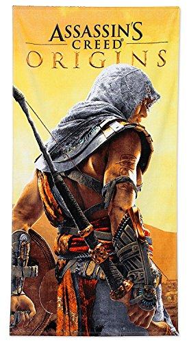 Assassins Creed Origins playa toalla 70x 140cm
