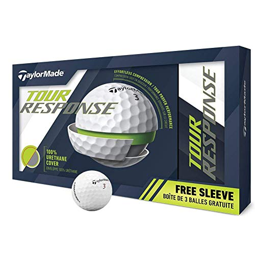 Taylor Made Tour Response Golf Balls - Launch 15Pk #1-#4 15-Ball Pack White