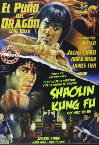 Pack Jackie Chan (El Puño Del Dragón - Shaolin Kung-Fu) [Italia] [DVD]