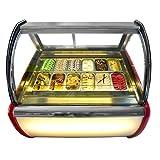 Commercial air convection design12 pans Gelato Display Freezer/Ice Cream Freezer/Ice Cream Showcase/ice cream Displayer freezer/Display cooler/Freezer
