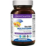 New Chapter Tiny Tabs Multivitamin with Fermented Priobiotics + Whole Foods + Vitamin D3 + B Vitamins + Organic Non-GMO Ingredients 192 ct (Packaging May Vary)