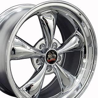 OE Wheels 18 Inch Fits Ford Mustang 94-2004 Bullitt Style FR01 18x9 Rims Chrome SET