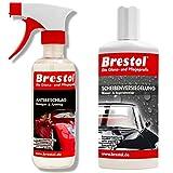 Brestol Antibeschlag + Scheibenversiegelung Set1 (250 ml + 300 ml)- Wasserabweiser Regenabweiser...