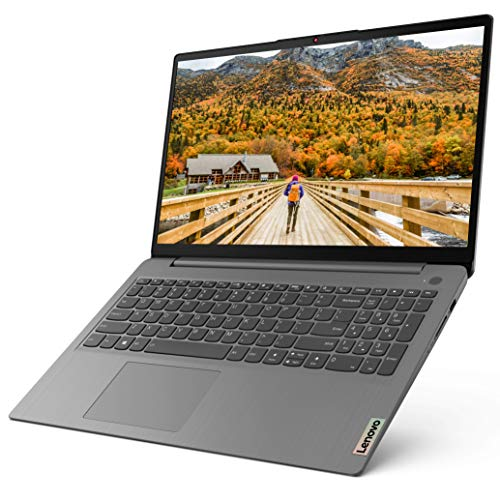 Lenovo IdeaPad 3 15ALC6 Ordinateur Portable Ultraslim 15.6'' Full HD Gris Arctique (AMD Ryzen 5, RAM 8Go, SSD 256Go, AMD Radeon Graphics, Windows 10) - Clavier AZERTY (français)