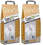 Sanicat Clumping Arena Aglomerante Gatos - 10L - 2 Pack