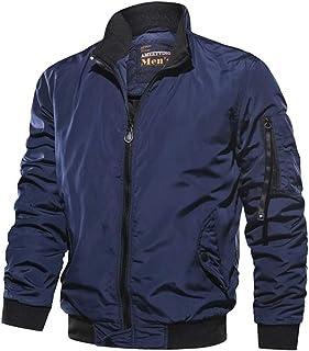 Xiang Ru Lightweight Leisure Jackets Outerwear Thickened Windbreaker for Men