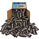 Big Hunk Candy Bars - Annabelle Candy - Mini Nougat Taffy Bar - Approx 120 Bars - Black Candy - Bulk Party Box 6x6x6 Family Size