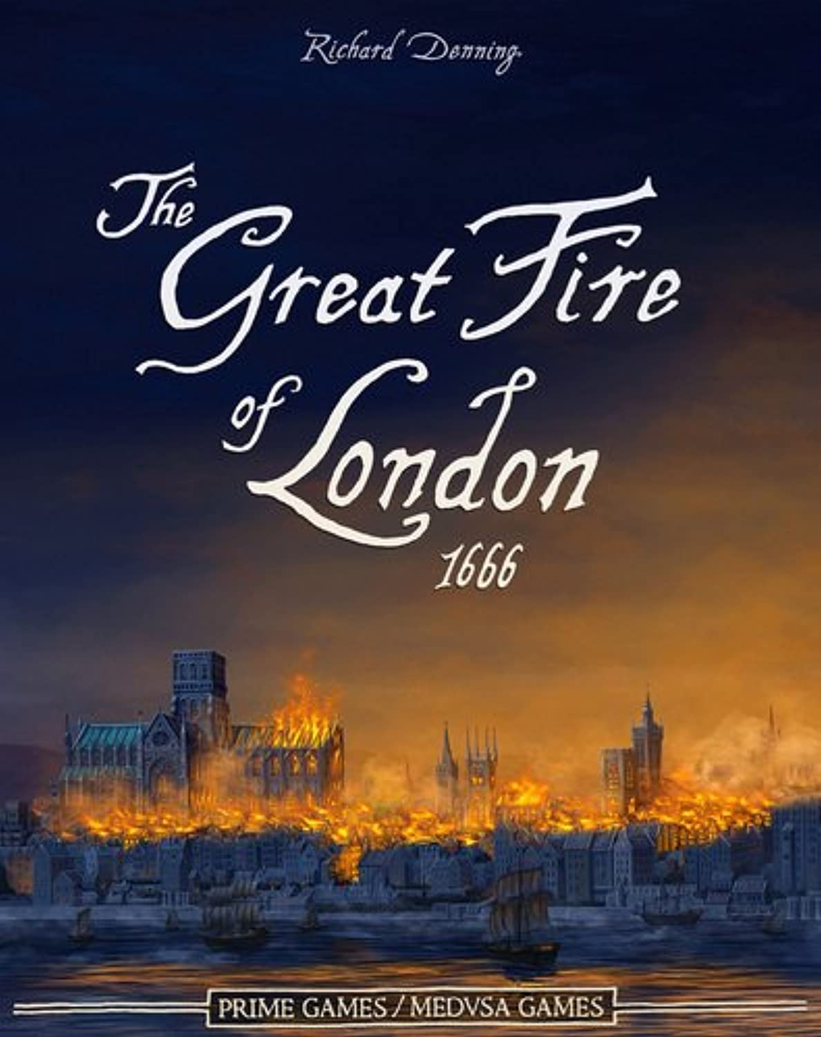 JKLM Games - The Great Fire of London 1666