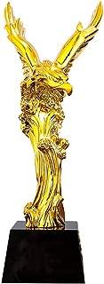 JJZD Golden Eagle Flying Oscar Trophy for Sports Competition Awards Ceremony Party Celebration Appreciation Gift Student Graduation Ceremony Prize Trophy Collection Halloween