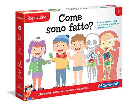 Clementoni-16171-Sapientino-¿Cómo Estoy Hecho-Juego Educativo, Multicolor (16171)