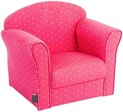 Kindersitzsack Sofa Freizeit Sofa Beflockung aufblasbare Sessel Stuhl Warte für Kinder,Pink