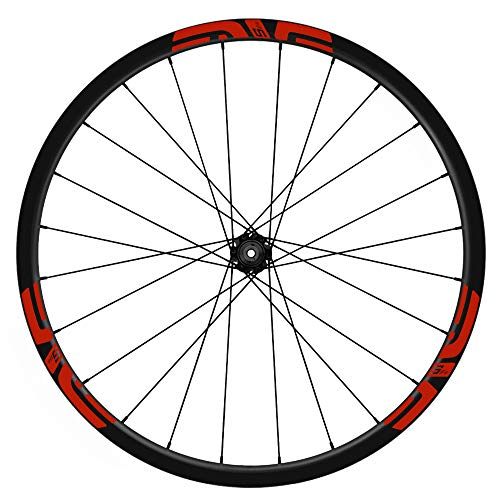PEGATINEA Wheel Rim Stickers Bicycle Stickers VELvas Decals 29 Inches ENVE M5 WH12 Red 032