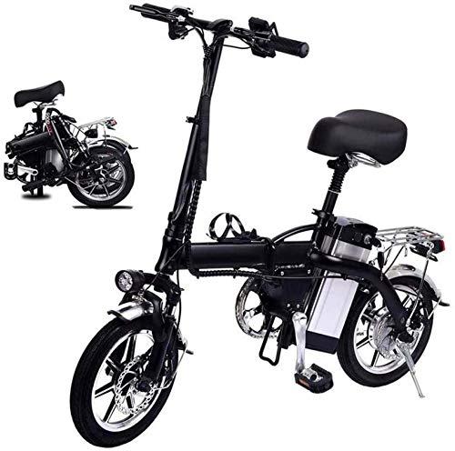 Fangfang Bicicletas Eléctricas, Bicicleta Plegable eléctrico for Adultos, 14