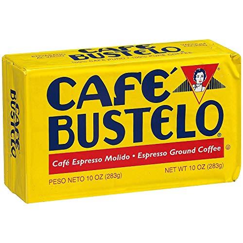 Cafe Bustelo Espresso Ground Coffe 10 oz Brick Each - PACK OF 16