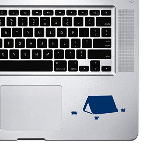 Dkisee Laptop Aufkleber fur MacBook Pro Chromebook und Laptops Vinyl Aufkleber PVC navy 8 inch