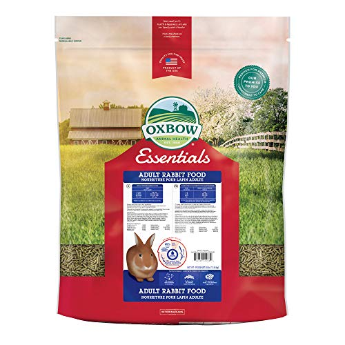 Oxbow Essentials - Comida de Conejo para Adultos - 25 Libras.