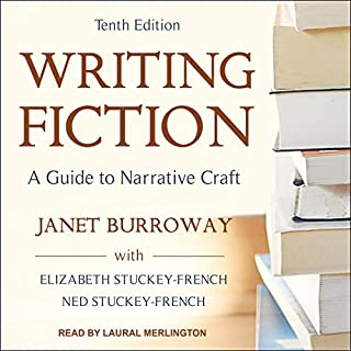 Writing Fiction, Tenth Edition audiobook cover art