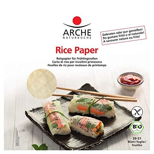 Arche Papier ryżowy do wiosennych rolek (150 g) - Bio