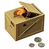 Bits and Pieces - The Snatching Coin Toy Bank - Stealing Coin Piggybank Novelty Bank