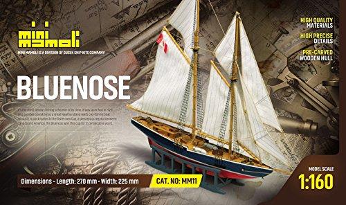 kit modelo de barco BLUENOSE categoria scale 1:160