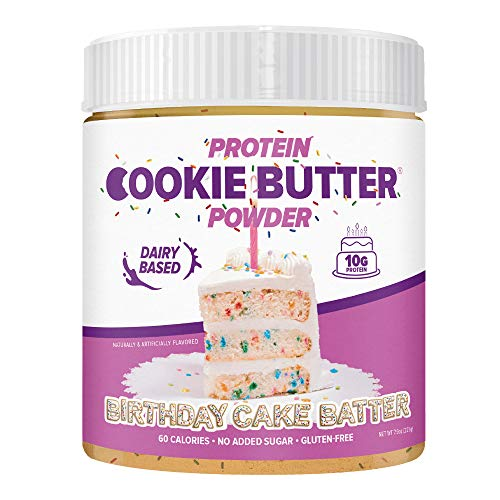 FDL Keto Friendly Protein Powder Cookie Butter (Birthday Cake Batter Whey)