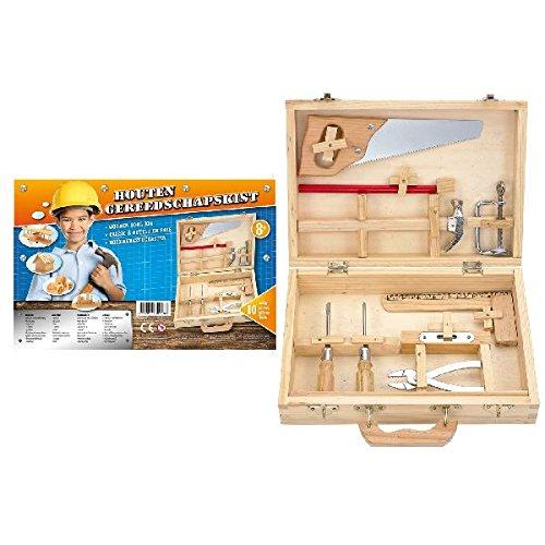 Ak Sport - 0415003 - Kit De Loisirs Créatifs - Outils en Bois - 10 Pièces