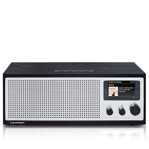 BLAUPUNKT Napoli IRD 400 DAB* Internetradio mit WiFi/WLAN und Bluetooth - 20 Watt RMS Radio mit LC-Farbdisplay