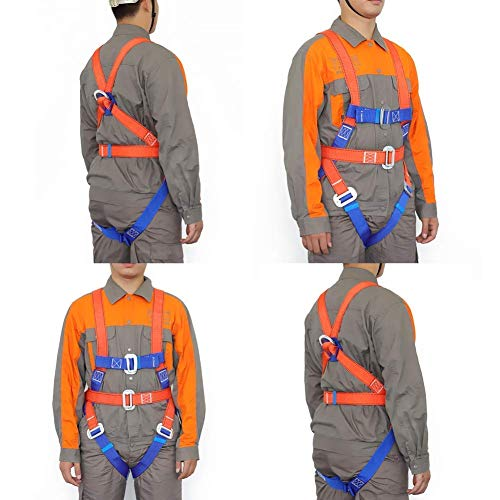 Full Body Universal Harness, Construction Harness Vest-Style, for Aerial Lift, Ironworker, Scaffolding, Tower