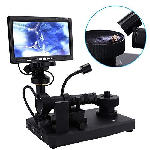 Filmtransistor LCD-flatpanelvertoning, 80x600 HD digitaal LCD-scherm Diamant Microscoop Taille Code kijker Waarnemer Snelle observatie Diamant taille(EU)