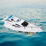 Deror Barco de Juguete, Barco de Vela, Barco de Velocidad eléctrica Modelo de Juguete Piscina de baño Barco de Juguete para niños