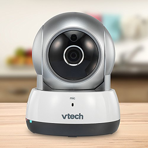 VTech VC931 Wireless Wi-Fi IP Camera with Remote Access App, 720p HD, Remote Pan & Tilt, Free Live Streaming & Automatic Infrared Night Vision