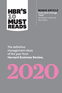 """HBR's 10 Must Reads 2020: The Definitive Management Ideas of the Year from Harvard Business Review (with bonus article """"Ho..."""