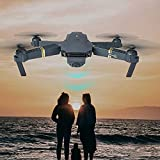 US Fast Shipment Tuscom Multifunction 6 Axis L800 Quadcopter  FPV Foldable Selfie Drone RC 2.4G HD Camera WiFi FPV and 2 Cameras 2.0 mp Wide Angle Camera for Pictures and Video (Black)