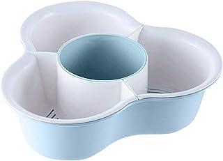 Warmwin Cuisine Double Panier Tamis Lave Vaisselle Nouilles Légumes Égouttoir À Fruits Maison Cuisine Outil De Rangement É...