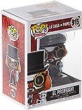 Funko - Pop! TV: La Casa de Papel - Professor O Clown Figura Coleccionable, Multicolour...
