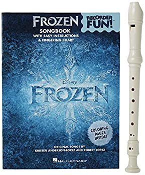 Frozen - Recorder Fun!  Pack with Songbook and Instrument