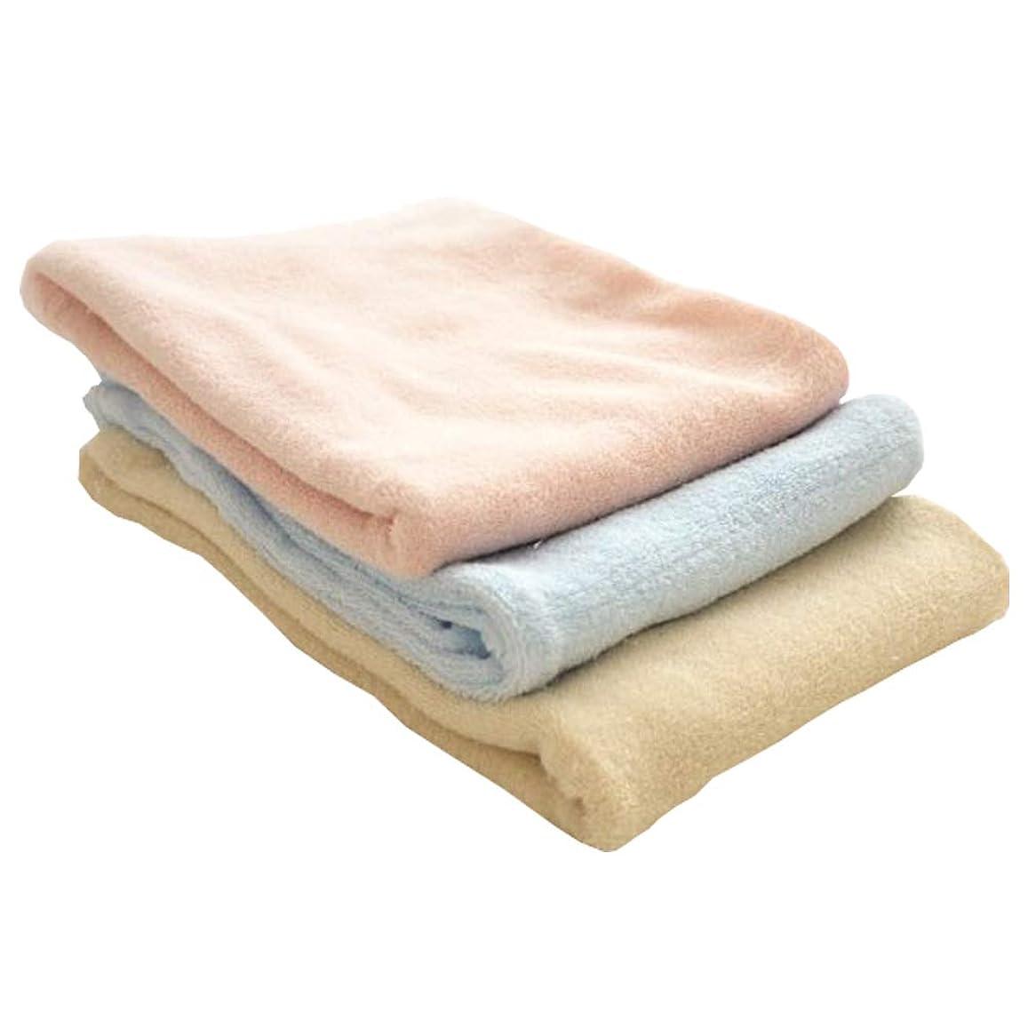 服を片付ける与える拒否のびのび枕カバー 32×53cm 綿100% パイル地 筒状タイプ 43×63cm用 35×50cm用 NP-3253 ピンク