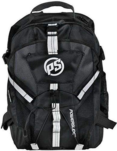 Powerslide Fitness Backpack Mochila tipo casual, 42 cm, 16 liters, Negro (Black)