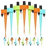 Winload 18 Pcs Kit de Riego Automático, Sistema de Riego por Plantas Kit, Ajustable Dispositivo de Irrigación por Goteo con Válvula de Control de Liberación Lenta Interruptor para Interior y Exterior