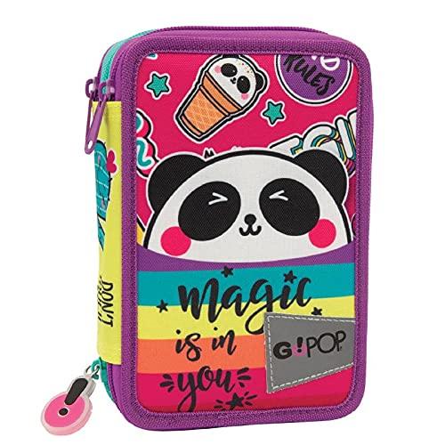GoPop 21 Panda Magic Astuccio Triplo, Giochi Preziosi