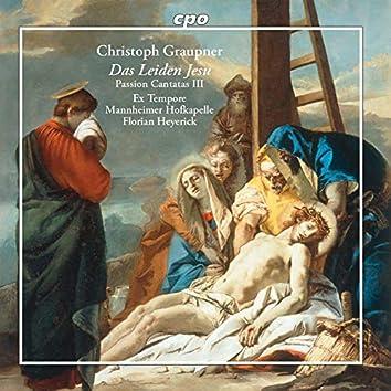 Das Leiden Jesu: Passion Cantatas, Vol. 3