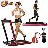 Best Folding Treadmills - 2 in 1 Under Desk Folding Treadmill,Electric Motorized Review