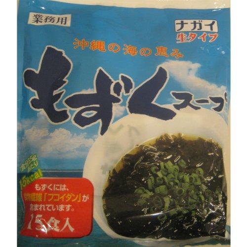 ナガイ 沖縄の海の恵み もずくスープ 35g 15食入り