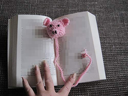 Häkelanleitung Lesezeichen Schweinchen: Ideal für Anfänger