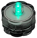 Bluedot Trading Submersible Tea Lights, Turquoise, 20-Pack, 20