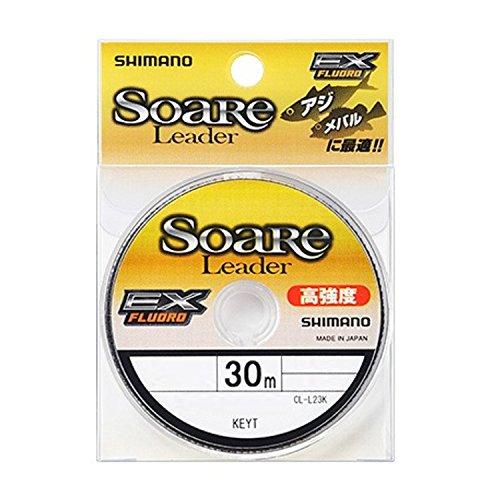 シマノ(SHIMANO) ショックリーダー ソアレ EX フロロカーボン 30m 0.8号 3lb クリア CL-L23K