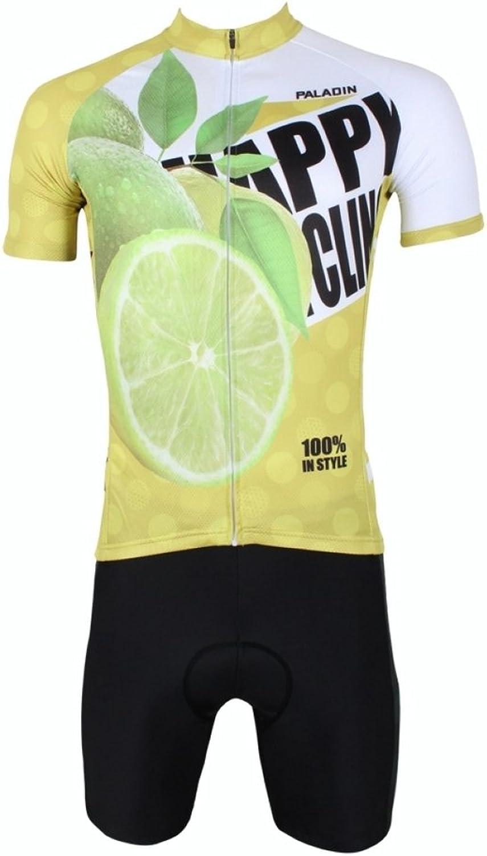 PaladinSport Men's Fruit Series Pattern Breathable Bike Clothing