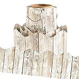 White Distressed Wood Bulletin Board Borders...