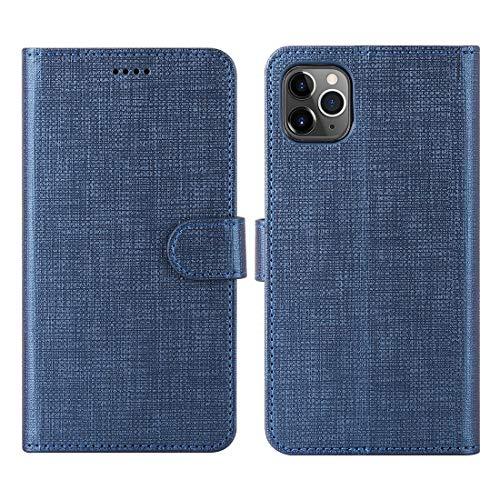 Foluu für iPhone XI Max Pro 6,5 Zoll 2019 , Brieftasche Hülle Kartenholster Flip...